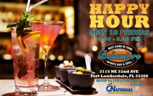 Happy Hour @ Bokampers | Fort Lauderdale | Florida | United States
